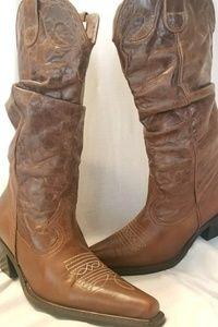Steve Madden cowboy boots Spurs 7 B slouchy